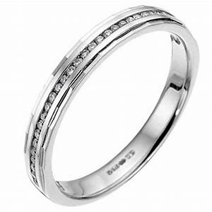 9ct white gold channel set diamond wedding ring ernest jones With ernest jones wedding rings