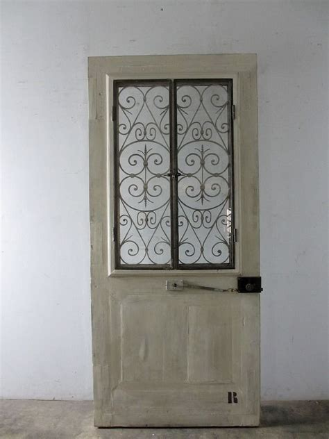 antique door  ironworks boncote