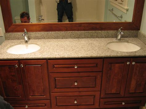 Bertch Bath Vanity Specifications by Bertch Hudson Cherry Cabinetry With Hylastone Recycled