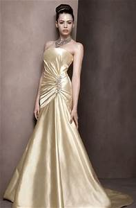 i heart wedding dress gold wedding dress With gold color wedding dress
