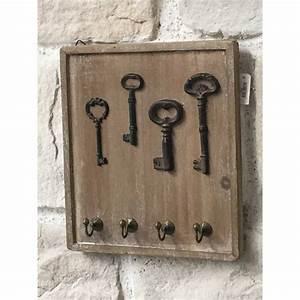 Boite A Clefs Original : porte cl s clefs mural en bois bo te cl clef armoire clefs ~ Teatrodelosmanantiales.com Idées de Décoration