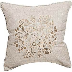 amazon com embroidery linen decorative pillow cover