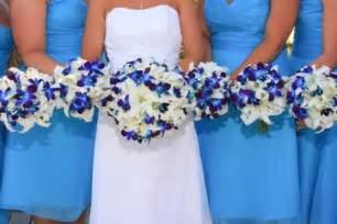 blue wedding flowers bouquet bridal september 2010