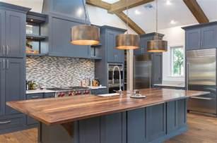 painted backsplash ideas kitchen 25 blue and white kitchens design ideas designing idea