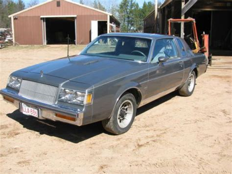 Turbo Buick Parts by Purchase Used 1987 Buick T Type Turbo Regal Same