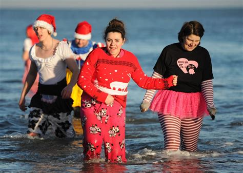 boxing day saltburn and redcar boxing day dips gazette live