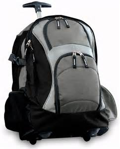 Backpack Travel Bag with Wheels
