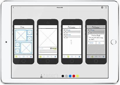 App Ipad Ui Sketch Ux Pro Bad