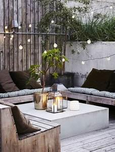 Balkon Bank Klein : inspiratie voor een bank op je balkon huis ~ Frokenaadalensverden.com Haus und Dekorationen