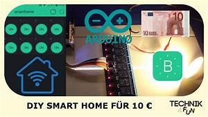 Smart Home Selber Bauen : diy smart home f r 10 selber bauen tutorial youtube ~ Articles-book.com Haus und Dekorationen