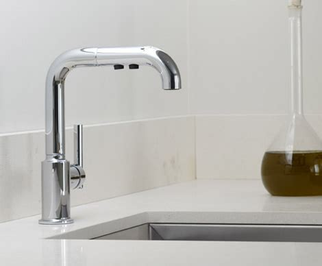 kohler kitchen faucet new contemporary purist