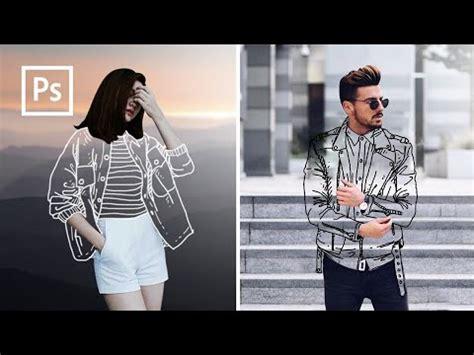 edit foto baju transparan clothless effect edit