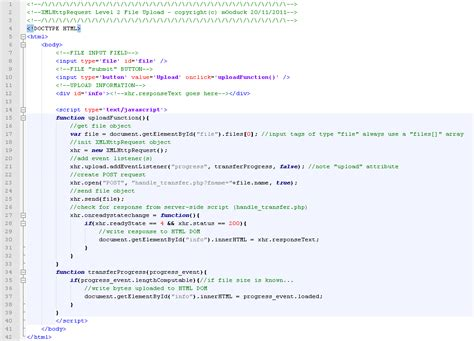 ajax file upload guide by wesley pumpkinhead 18th