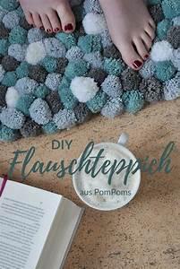 Teppich Selber Machen : diy flauschteppich aus pompoms einfach selber machen smillas wohngef hl ~ Orissabook.com Haus und Dekorationen