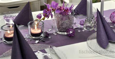 tischdeko weihnachten lila flieder hochzeit deko