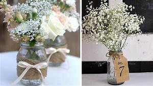 Centre De Table Champetre : deco mariage champetre vintage le mariage ~ Melissatoandfro.com Idées de Décoration