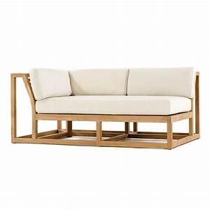 Maya teak outdoor sectional sofa westminster teak for Outdoor sectional sofa teak
