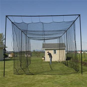 commerical batting cage package  kvx netpolesl