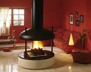 Cheminée Centrale Prix : cheminee centrale godin prix ~ Premium-room.com Idées de Décoration