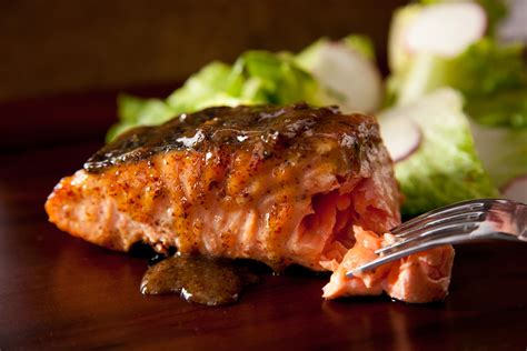 grilled salmon recipes maple mustard grilled salmon recipe dishmaps