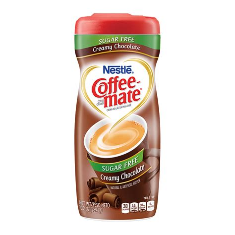Find great deals on ebay for coffee mate sugar free. Coffee-Mate Sugar Free Creamy Chocolate Creamer 10.2oz ...