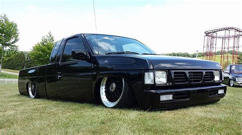 stanced nissan hardbody stanced truck jdmeuro com jdm wheels and trends archive