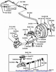 Brake Servo Mn116488 Mitsubishi Grandis 11 2004