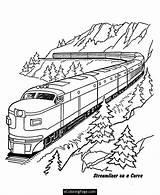 Train Coloring Csx Trains Printable Getcolorings Railroad Bold sketch template