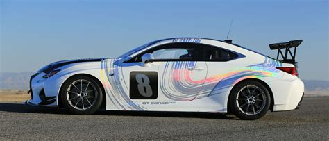 Lexus Rc F Gt by Lexus Rc F Gt Concept To Take On Pikes Peak Forcegt