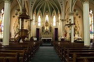 Beautiful Catholic Church Texas