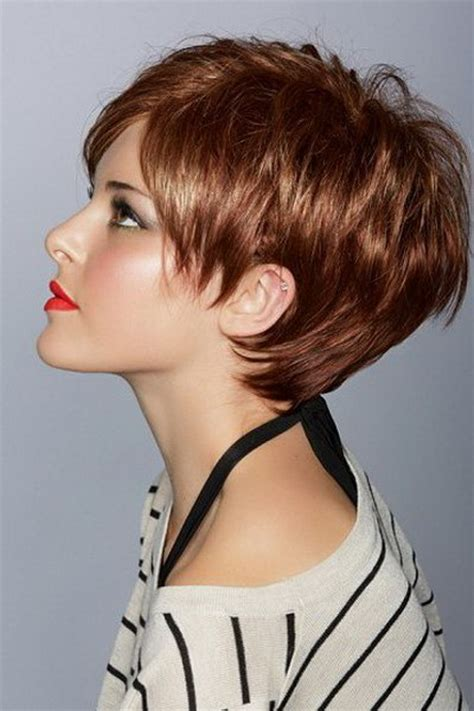 short hairstyles   faces