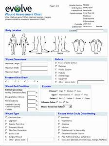 full body diagram for charting body position for medical With wound chart template