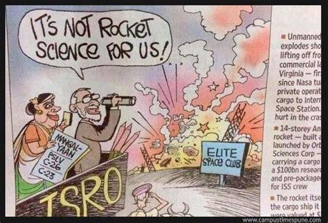 Hindustan Times Hits Back On Nyt's Racist Isro Cartoon