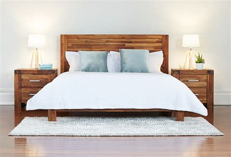 acacia bed brisbane bedroom warehouseshowroom