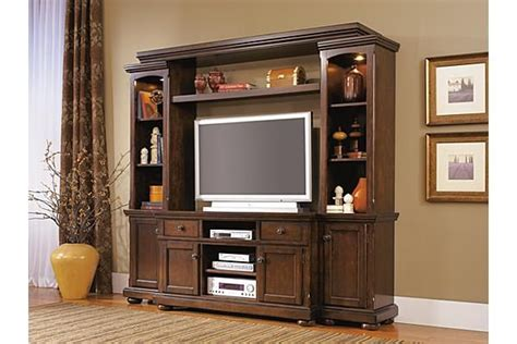 porter entertainment center  ashley furniture