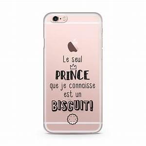 Coque Iphone 6 : coque iphone 6 6s le prince est un biscuit ~ Teatrodelosmanantiales.com Idées de Décoration