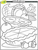 Feast Coloring Thanksgiving Pages Getcolorings sketch template