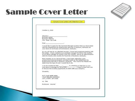 resume cover letters shows your qualifications