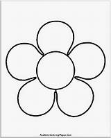 Coloring Simple Flower Realistic Flowers Nature Basic Printable Popular Mesmerizing Animals Getcolorings sketch template