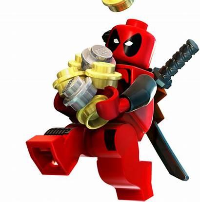Lego Deadpool Marvel Heroes Superheroes Dc Character