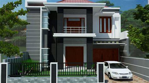 desain rumah minimalis dua lantai arcadia desain