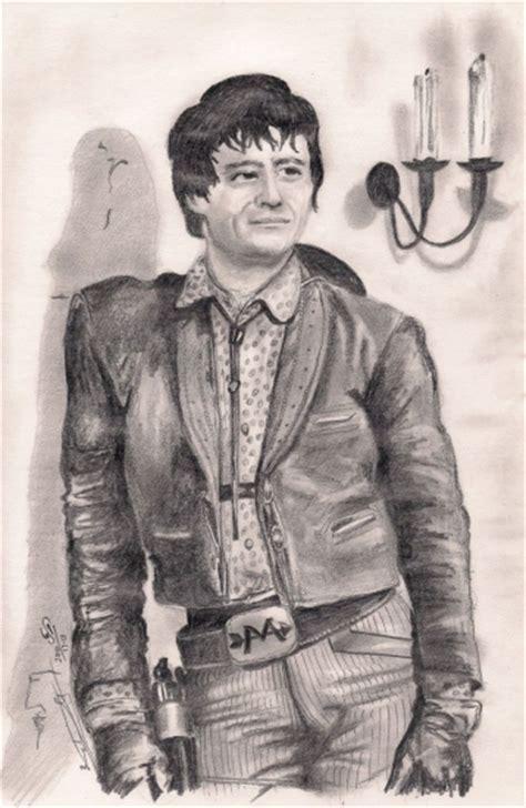 Portrait de Henry Darrow par Biggs sur Stars Portraits