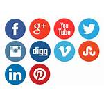 Social Network Icons Transparent Icon Clipart Buttons