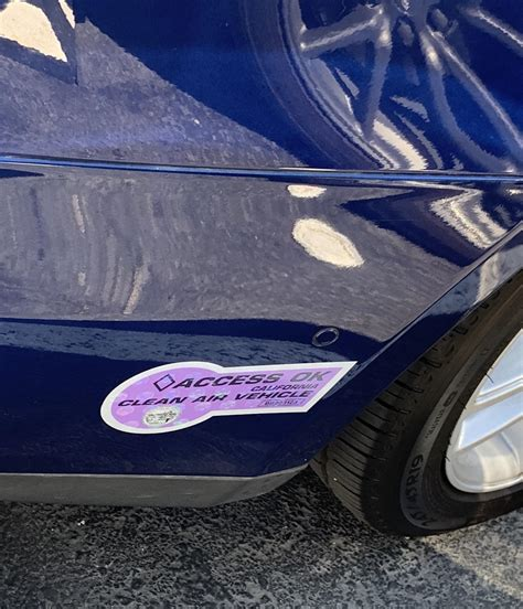 Download Ca Hov Stickers On Tesla 3 Tips PNG