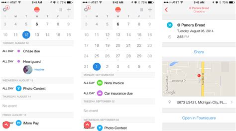 link calendar to iphone best calendar apps for iphone imore