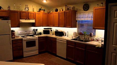 led lighting  cabinet lighting kitchen diy youtube