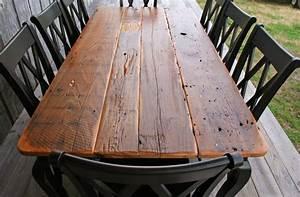 Crawfish tables for sale description barnwood tables for Barnwood kitchen table for sale