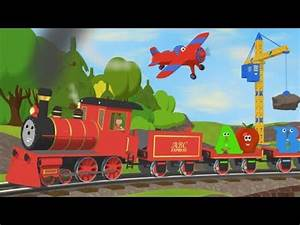 alphabet train with two objects per letter youtube With letter train