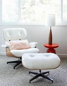Eames Chair Weiß : der charles eames lounge chair denkt an ihren komfort ~ Markanthonyermac.com Haus und Dekorationen
