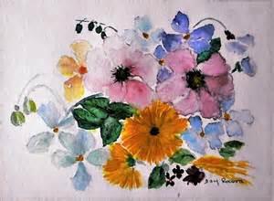 Tableau Peinture En Anglais by Tableau Fleur Quot Quot Bouquet Anglais Quot Quot Peinture Aquarelle